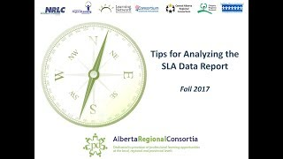Tips for Analyzing the SLA Data Report