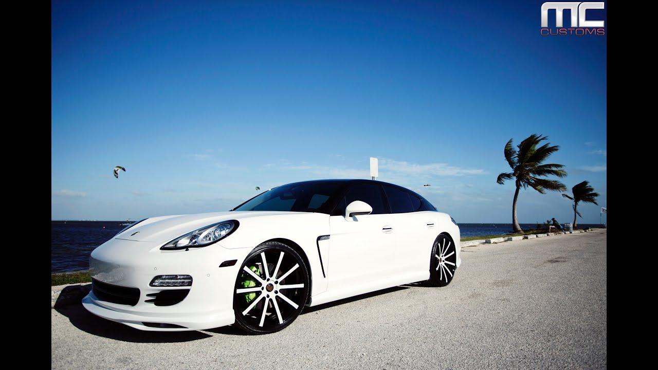 Porsche Panamera On Custom Xo Luxury Tokyo Wheels Youtube