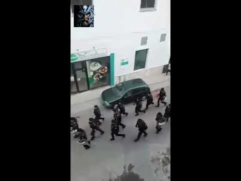 Guardia Civil desaloja en Lleida día 1-0