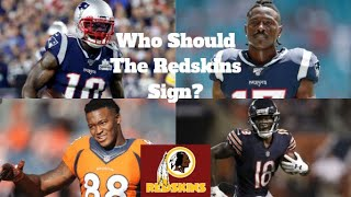 5 Veteran WR's The Redskins Should Sign After Kelvin Harmon Injury! Redskins Hire Eric Stokes!