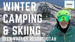 Ep. 93: Winter RV Camping & Skiing | Utah travel Deer Valley