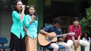 Band SMPN 104 @Peragaan Busana SMPN 104 Jakarta Tahun 2016