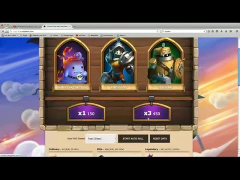 Castle Clash 1.2.82 Roll For Valentina In Ccroller (gems Hack Roll Valentina !))