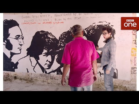 Rishikesh, where the Beatles learnt to meditate - The Ganges with Sue Perkins: Episode 1 - BBC One