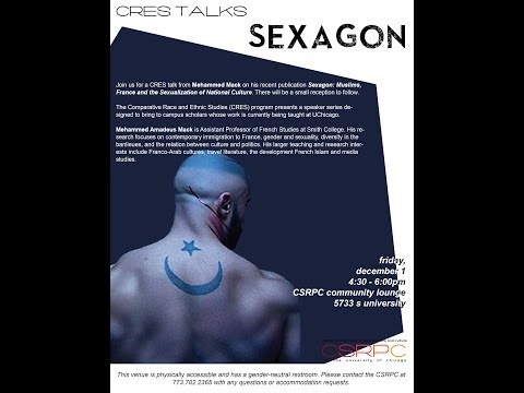 """CRES Talks - Mehhamed Mack: """"Sexagon"""""""
