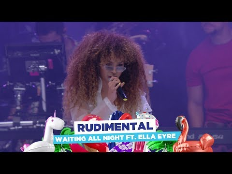 Rudimental - 'Waiting All Night feat Ella Eyre' (live at Capital's Summertime Ball 2018)