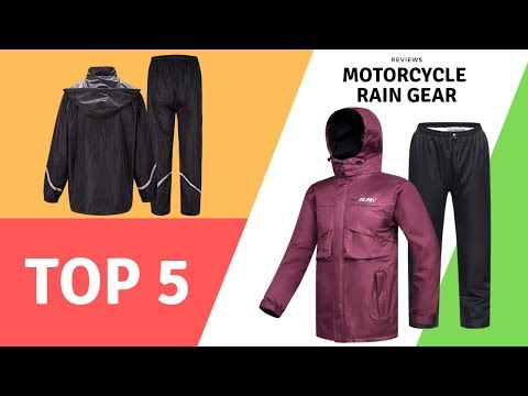 Best Motorcycle Rain Gear Reviews 2020 (Top5)