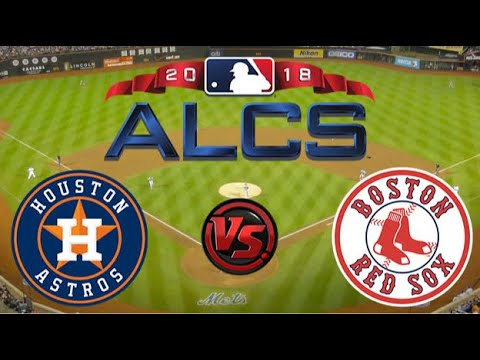 MLB Live Stream: Houston Astros Vs Boston RedSox (Live Reaction & Play By Play Game 1 ALCS)
