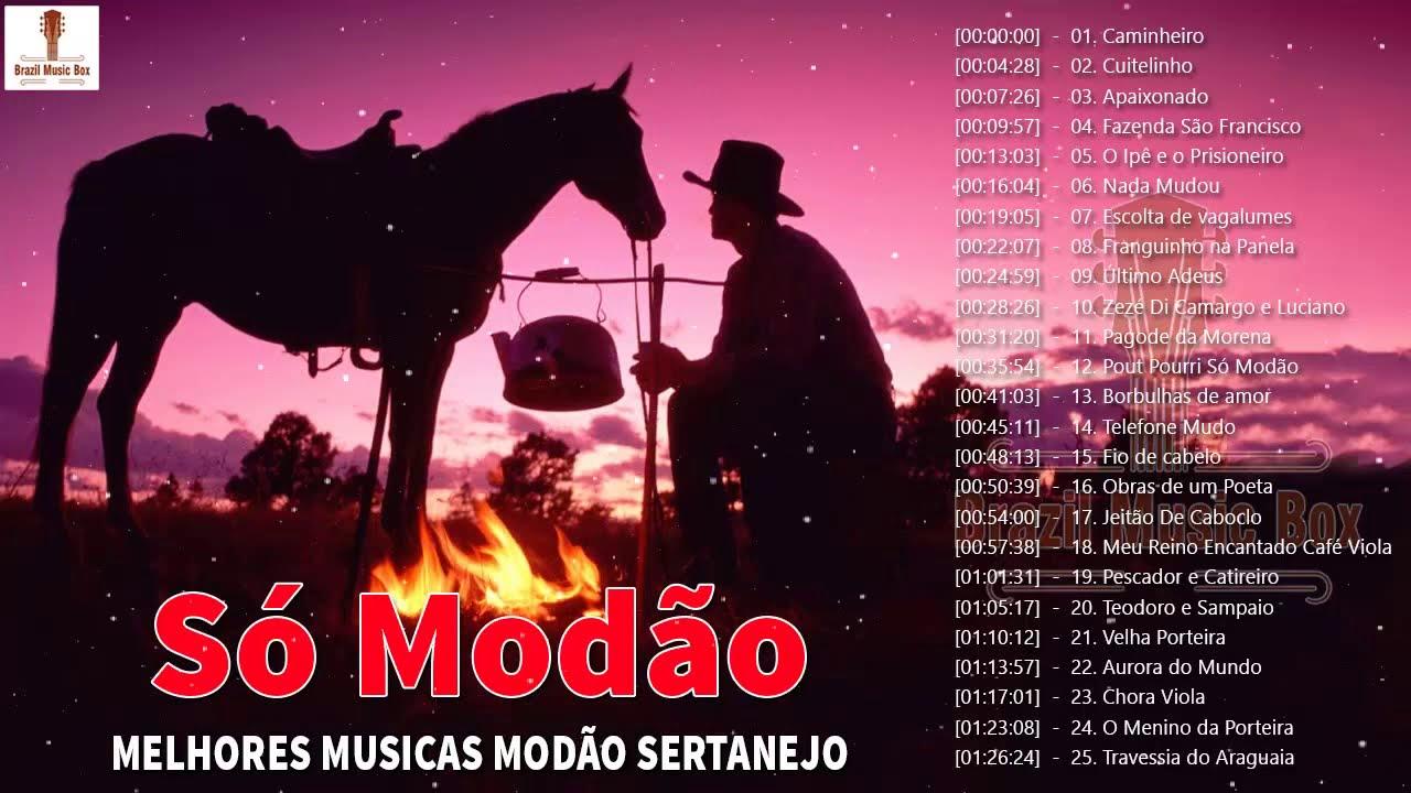Só Modão Top Sertanejo Brasil 2020 - Só Modão Sertanejo Brasil As Melhores  - Modão Sertanejo