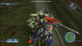 Transformers The Game Walkthrough - Megatron Boss Battle/Final - Mission 17 - Autobot