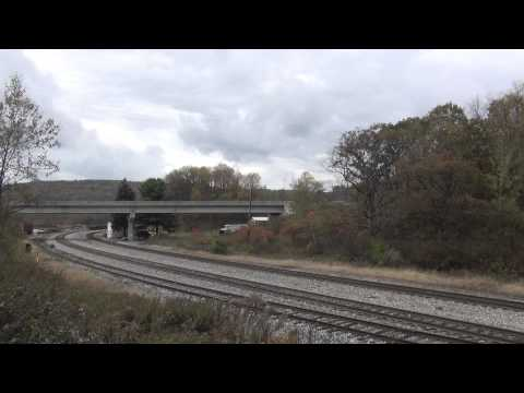 CSX Keystone Sub Sand Patch Grade in Pennsylvania 10/13/2015 Part 1