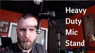 Ultimate Support MC-125 Studio Mic Stand Setup