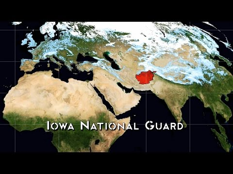 The Mission and Plan of an Iowa National Guard Division during the War in Afghanistan