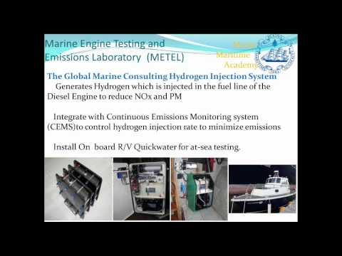 2014 Brown Bag Lecture Series: The Marine Engine Testing and Emissions Laboratory (METEL)