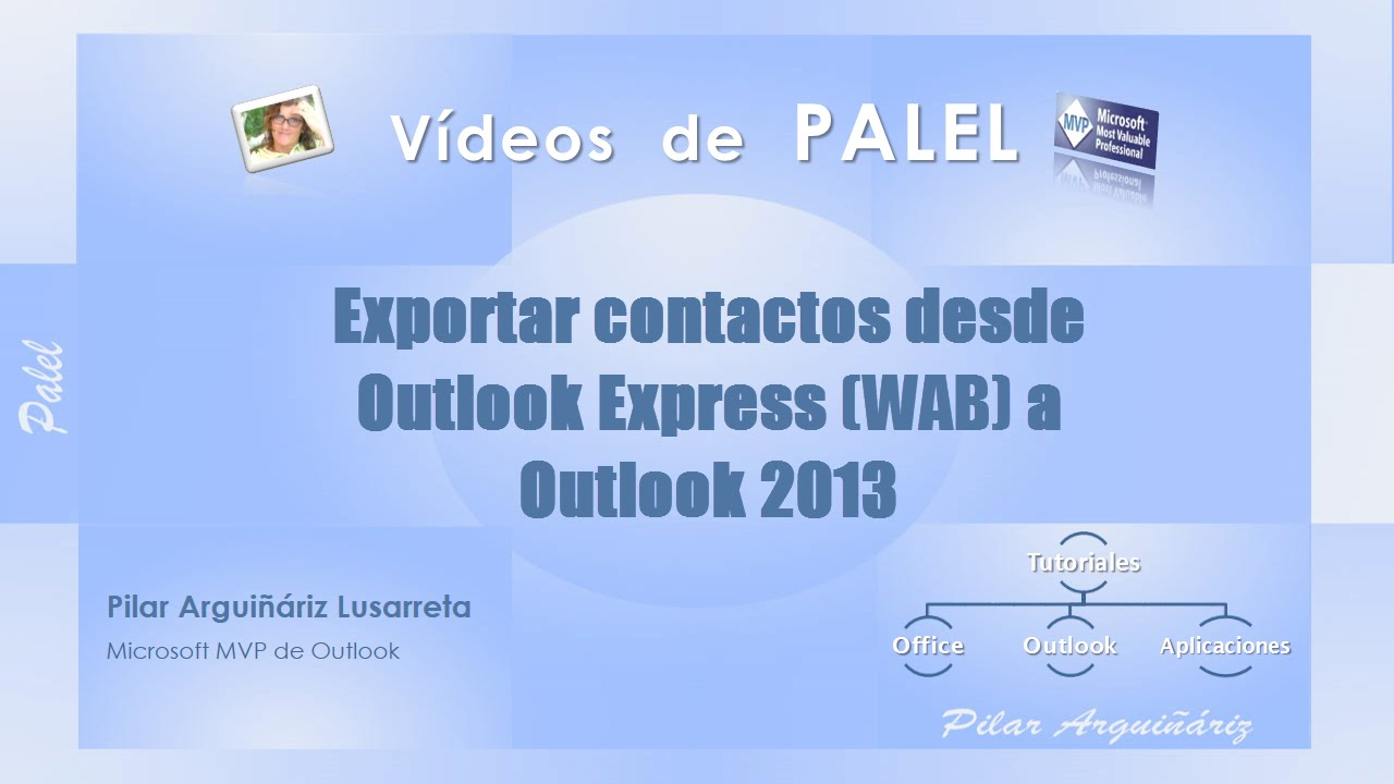 Importar contactos desde Outlook Express (WAB) a Outlook 2013 en Windows 7 y 8