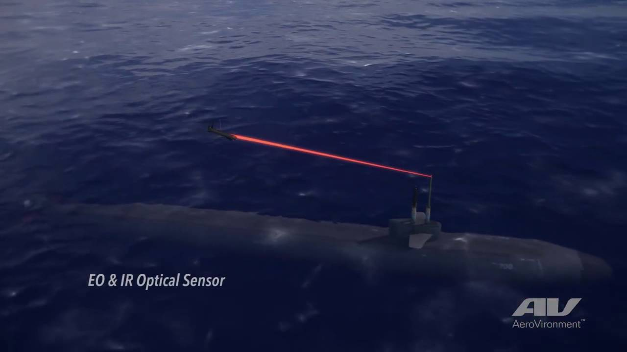 Aerovironment S Blackwing Uas Connects Submarines