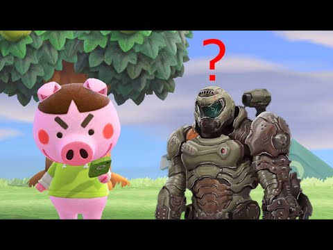 What if Doom Eternal and Animal Crossing switched soundtracks?  