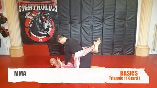 MMA FIGHTING BASIC TRIANGLE GUARD