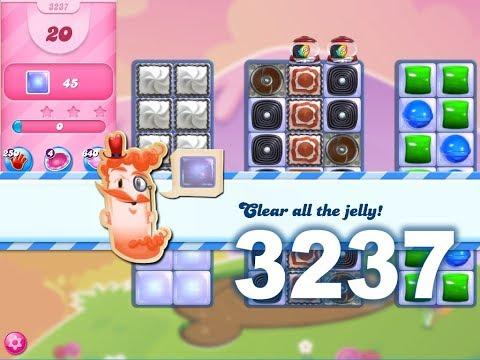 Candy Crush Saga Level 3237 (3 stars, No boosters)