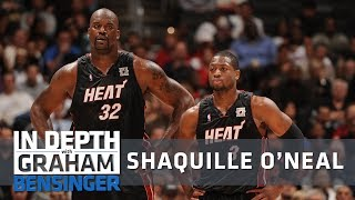 Shaq's different approach when playing with Dwyane Wade