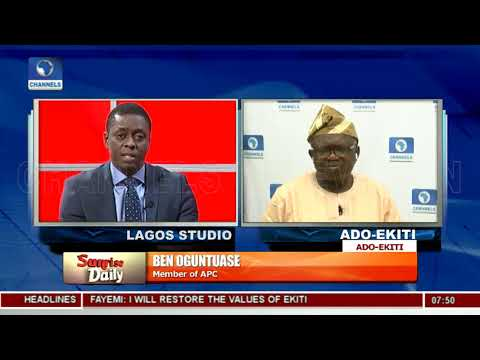 Go To Court, Ekiti Election Was Free, Fair Without Federal Might Oguntuase Tells PDP Pt1