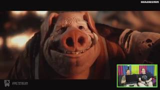 Beyond Good and Evil 2 E3 Trailer - React