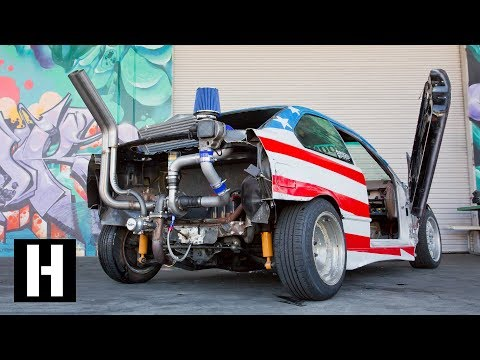 Rear Mounted eBay Turbo?? Sh*tcar Gets Boost