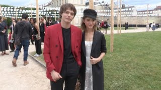 Charlie Heaton and Natalia Dyer at the Christian Dior Couture Spring Summer 2019 Cruise Collection i