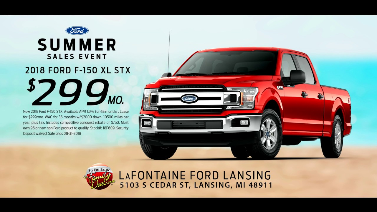 Lafontaine Ford Lansing >> Lafontaine Ford Of Lansing Ford Summer Sales Event August
