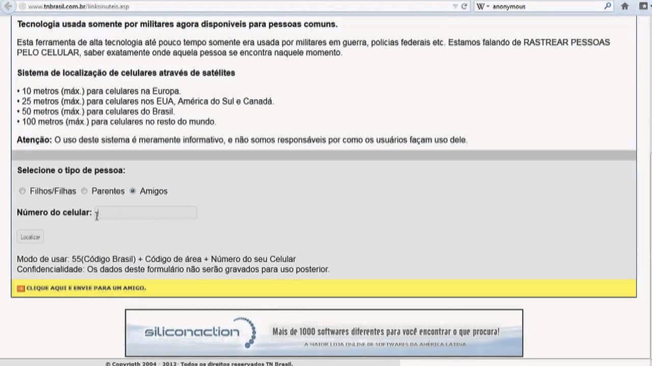 tn brasil rastreador de celular