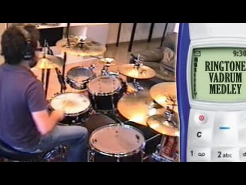 Ringtone Vadrum Medley (Drum Video)