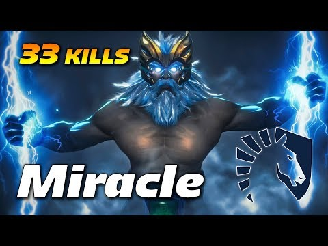 Miracle Zeus - 33 KILLS OWNAGE - Dota 2 Pro Gameplay