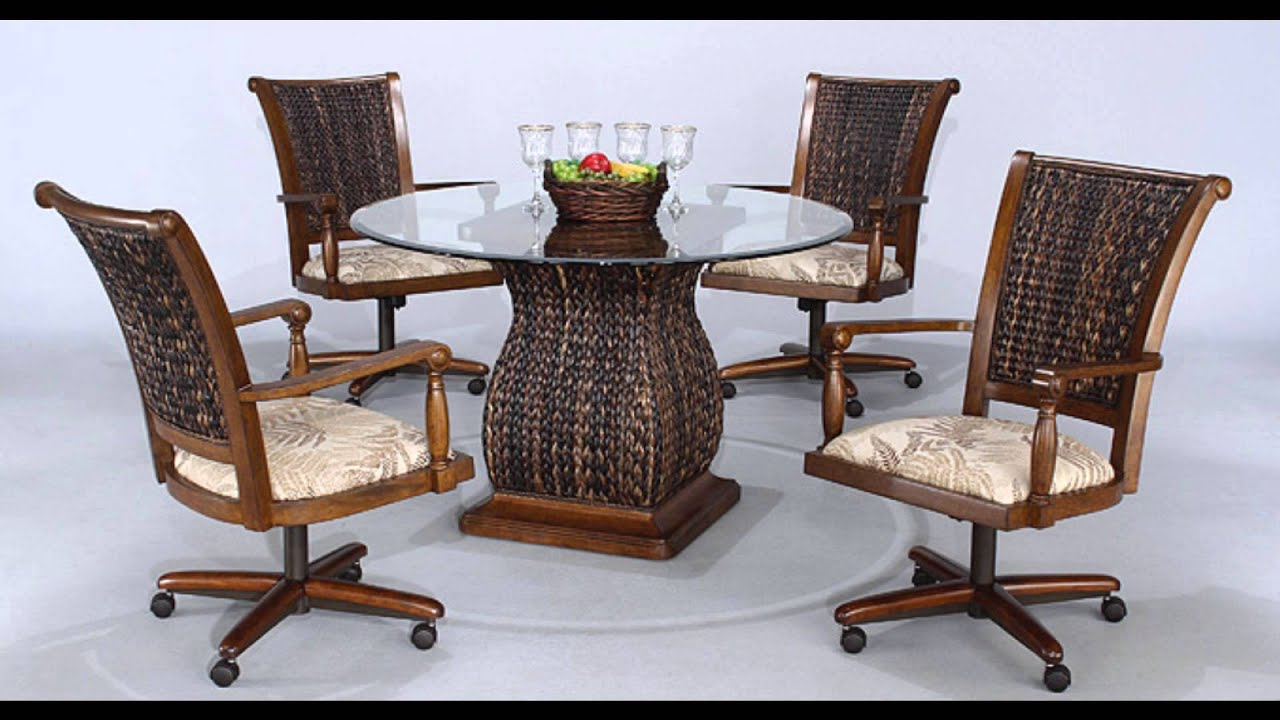Sets Chairs Casters Dining