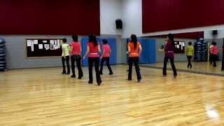 Little Zou Bisou - Line Dance (Dance & Teach in English & 中文)
