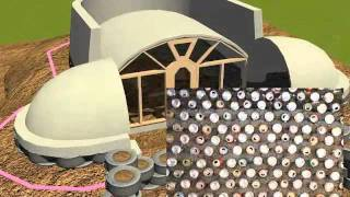 Simple Survival Model Earthship