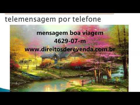 Telemensagem Boa Viagem 4629 23 F By Reginacelia Souza