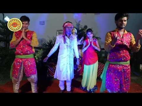 2017 का सुपर हिट सांग -नाचत$ पुजारिया झूम के - Vivek Lal Yadav - New Bhojpuri Devi Geet 2017