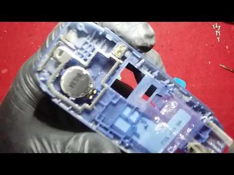 Reparación Celular nokia 1616 no prende por humedad