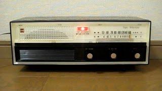 オンキヨー(大阪音響)の真空管ラジオ OS-195 です。 発売は昭和36年、当...
