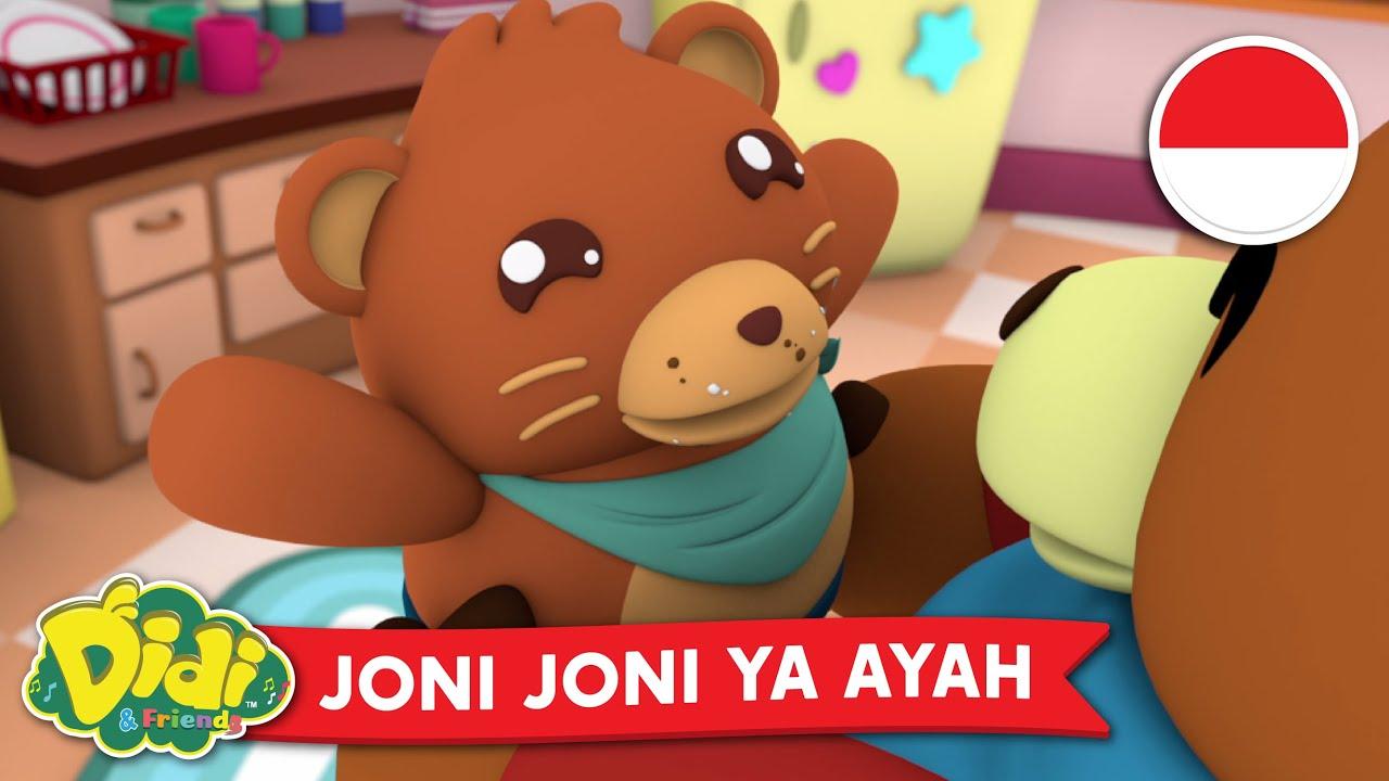 Joni Joni Ya Papa | Lagu Anak-Anak Indonesia | Didi & Friends Indonesia