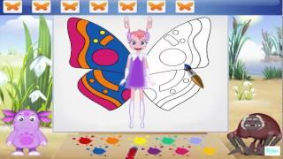 Лунтик ИГРА видео развивающие для детей Прохождение 2015 года Серия 5