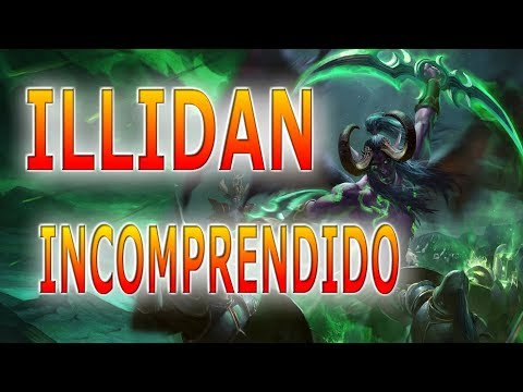 Illidan HEROES OF THE STORM GAMEPLAY ESPAÑOL bahia de almanegra OLI