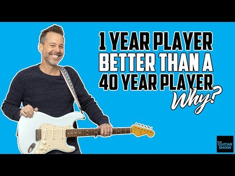 1 Year Player Better Than 40 Year Player...Why?