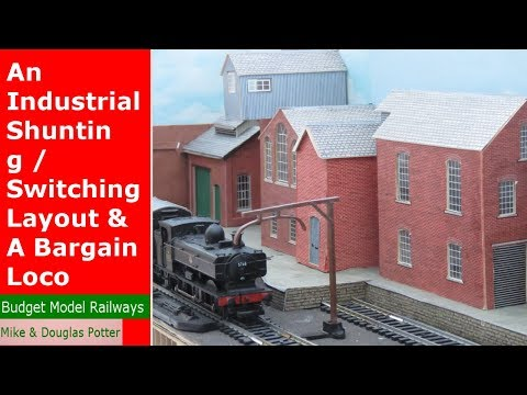 An OO Gauge Industrial Shunting / Switching Layout & A Bargain Loco
