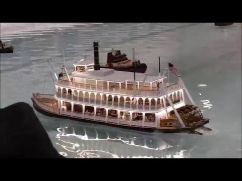 Cabin Fever Expo 2016 Steam Powered RC Paddle Boat
