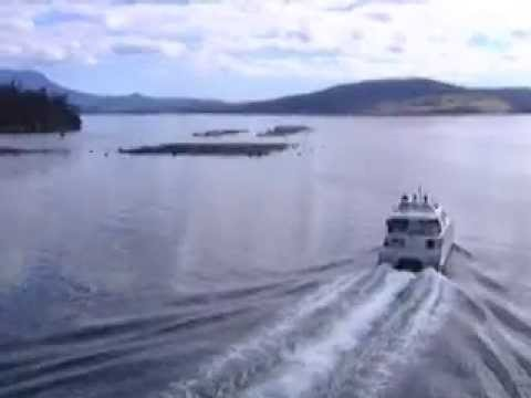Tours-TV.com: Boat Cruise from Hobart to Port Arthur