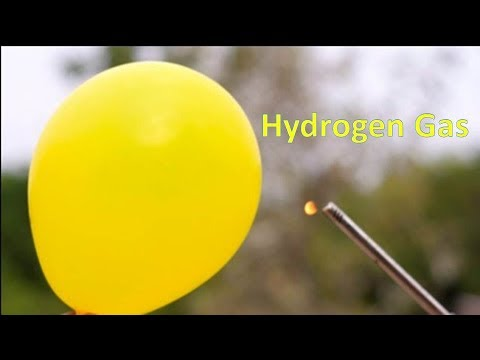 How to Make Hydrogen Gas And Testing for Hydrogen Gas