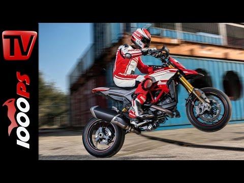 Ducati Hypermotard Modelle 2016 | Details, Leistung