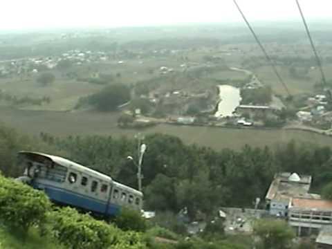 Palani Hill- Lord Murugan Temple - Winch Train (Upward and Downward  Journey)