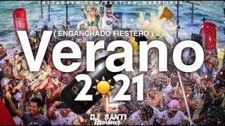 ENGANCHADO VERANO 2021 ( MIX FIESTERO ) LO MEJOR Y MAS ESCUCHADO | Dj Santi Martinez